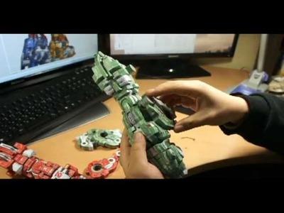 Papercraft ZOIDS-VOLTRON   2nd, 3rd KIT