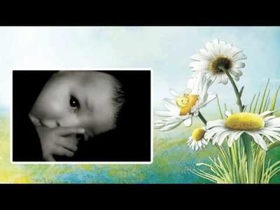 Proshow Producer Digital Scrapbook Album- Baby Bee Garden scrap set by Lorie Davison