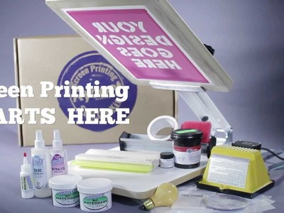Ryonet Screen Printing Starter Kit, DIY T-Shirt Printing
