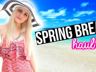Spring Break Essentials! Outfits, Makeup & More Haul! | Aspyn Ovard