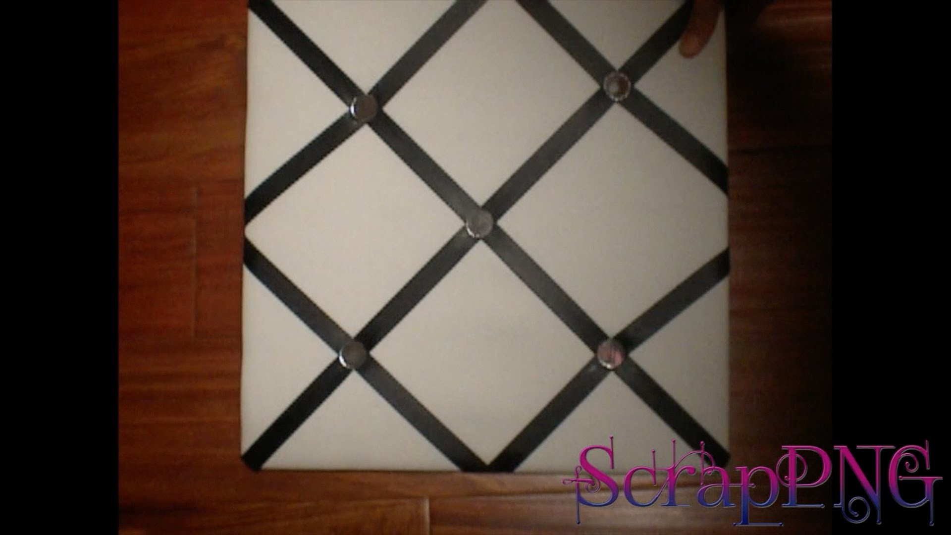 Upcycle Picture Board Change Ribbon DIY How To Tutorial