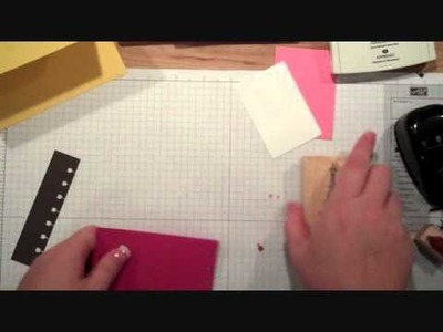 Using Stampin' Up!'s Spiral Border Punch
