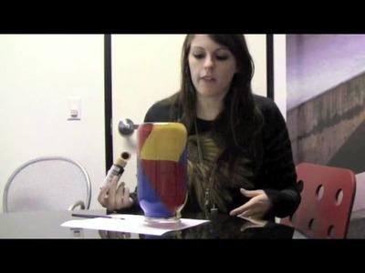 Vans Girls DIY: Create Your Mark Lamp