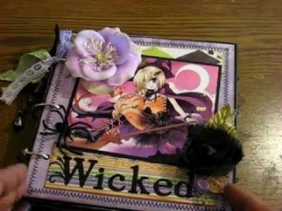 Wicked Halloween mini album 2011 SOLD!