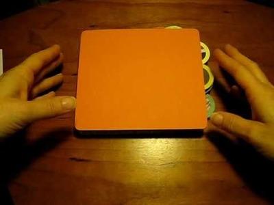 Zoo Paper Bag Mini Scrapbook Album