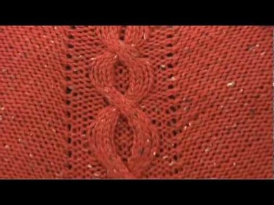 #5 Cabled Shawl, Vogue Knitting Fall 2009