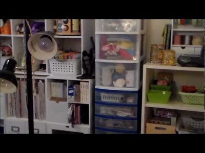 Craft Room Tour 2013 Part 1