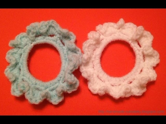 CROCHET ALONG - Easy Crocheted Elastic For A Ponytail
