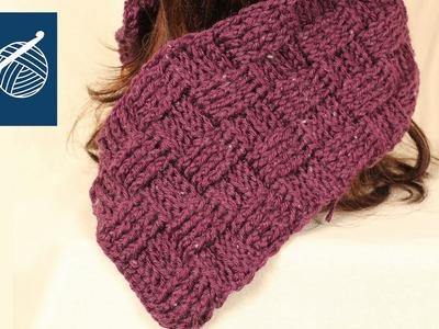 Crochet BasketWeave Stitch Baby Blanket, Shawl, Scarf Left Hand