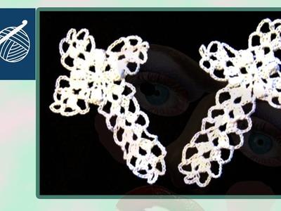 CROCHET CROSS - Left Hand Crochet Geek