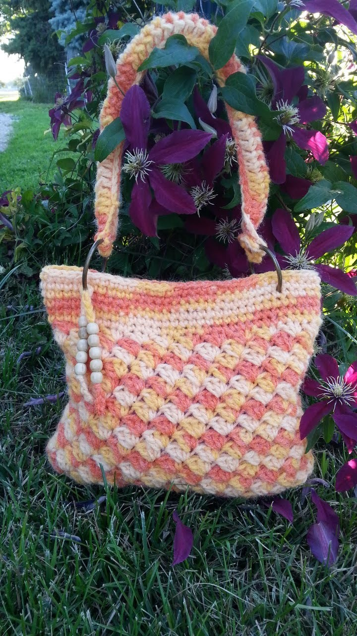 #Crochet Handbag Purse #TUTORIAL Fun DIY Purse Ideas crochet tutorial