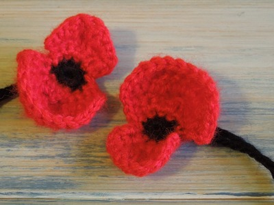 (crochet) How To - Crochet a Poppy