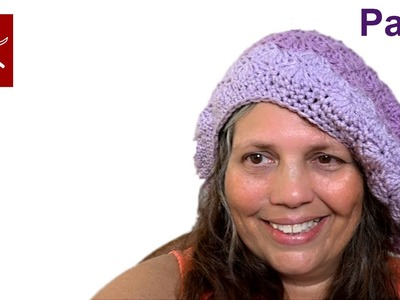Crochet Shell Stitch Slouch Hat Part 4 - Crochet Geek