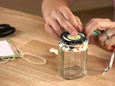 Decorating Marmalade Jars : Mason Jar Crafts & More