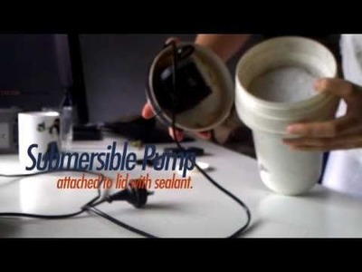 DIY Canister Filter - Simple Concept