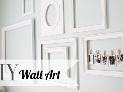 DIY Chic Wall Art & Polaroid Display | Home Decor  | ANNEORSHINE