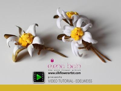 DIY complete video tutorial Edelweiss-part 1
