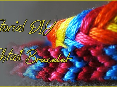 DIY - Fishtail Friendship Bracelet (2 modi)