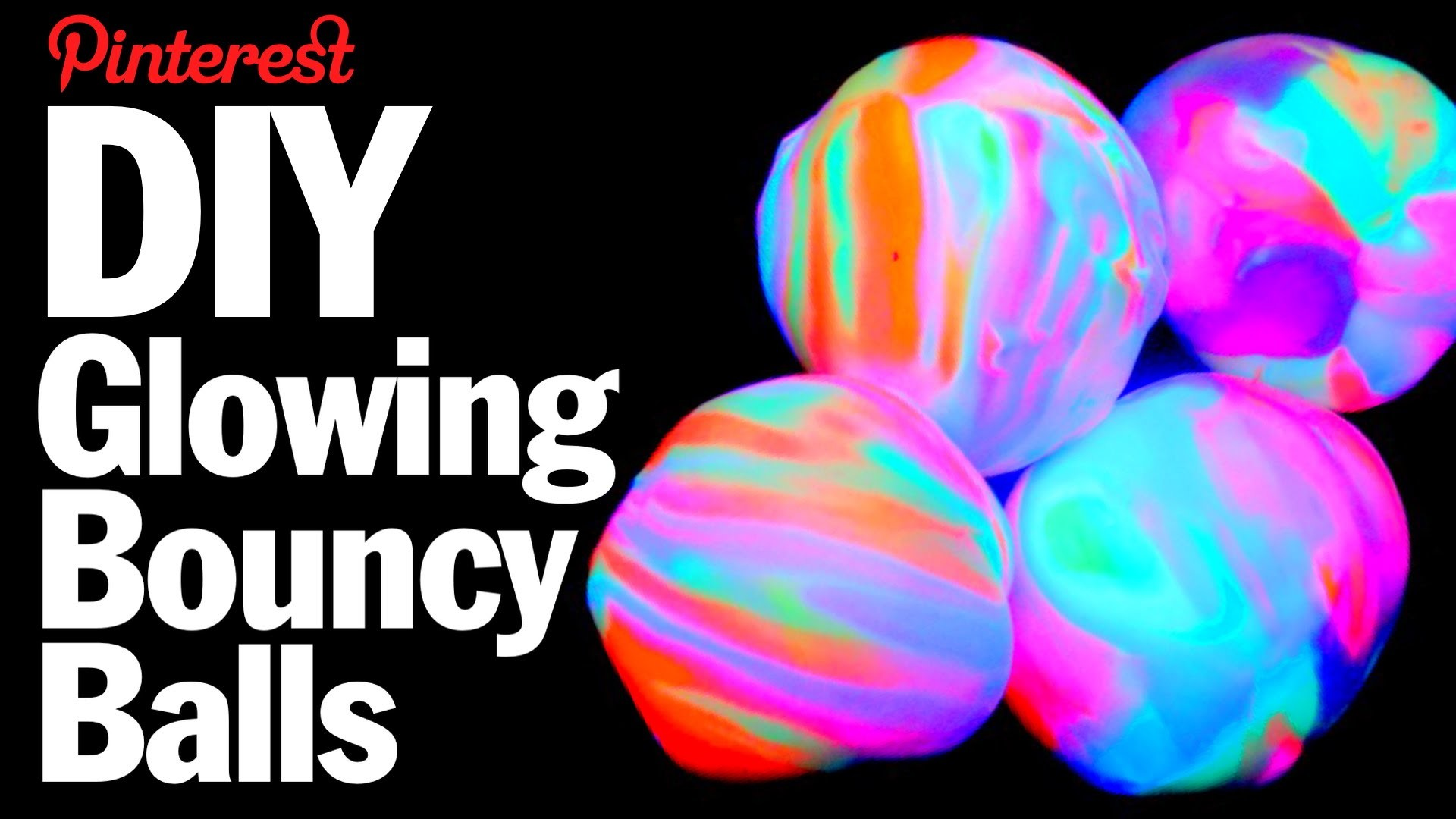 DIY Glowing Bouncy Balls - Kid Vs Pin - Pinterest Project #49