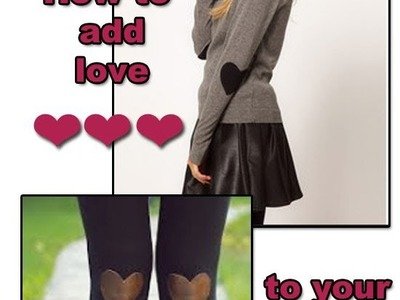 "DIY ""How to revamp old clothes"""
