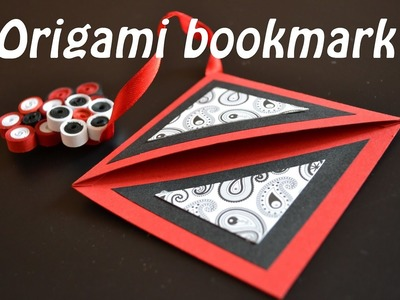DIY Origami Simple Corner Bookmark - Tutorial ( Segnalibro ) - Origami for beginners