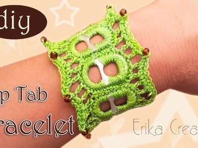 DIY: #PopTab #Bracelet #Crochet