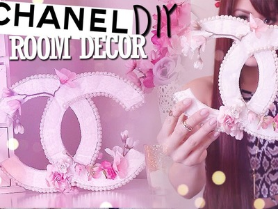 DIY Room Decor Chanel Logo {Spring.Summer}