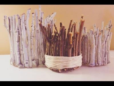 DIY With Katie?: TREE BRANCH JARS
