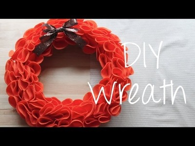 DIY Wreath (Fall.Halloween Home Decor) Collab with ChicDesignCafe