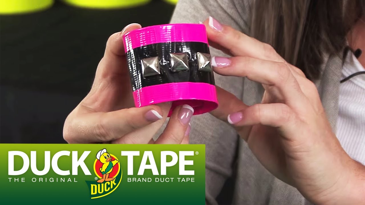 Duck Tape Crafts: How to Make a Bracelet