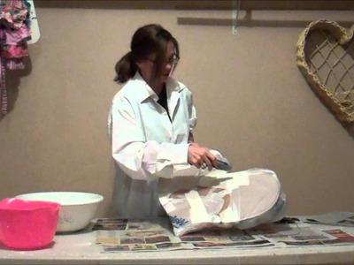 Easy DIY Paper Mache Homemade Valentine Hearts