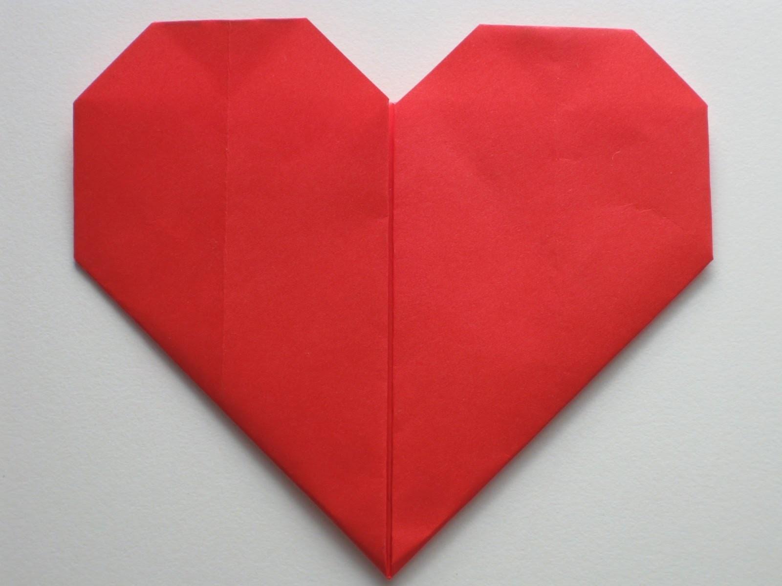 Easy Origami Heart