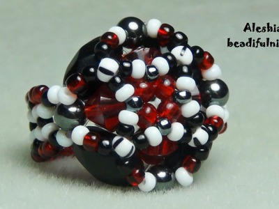 Exquisite Beaded Ring and Pendant Tutorial