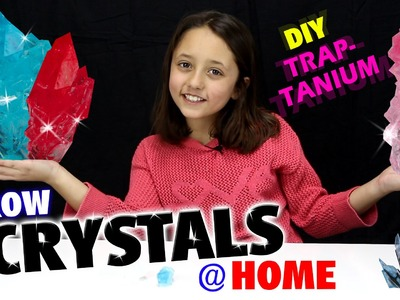 GROW CRYSTALS AT HOME!  DIY Traptanium. Skylanders Fun w. Sky Girl Lexi  (TRAP TEAM)