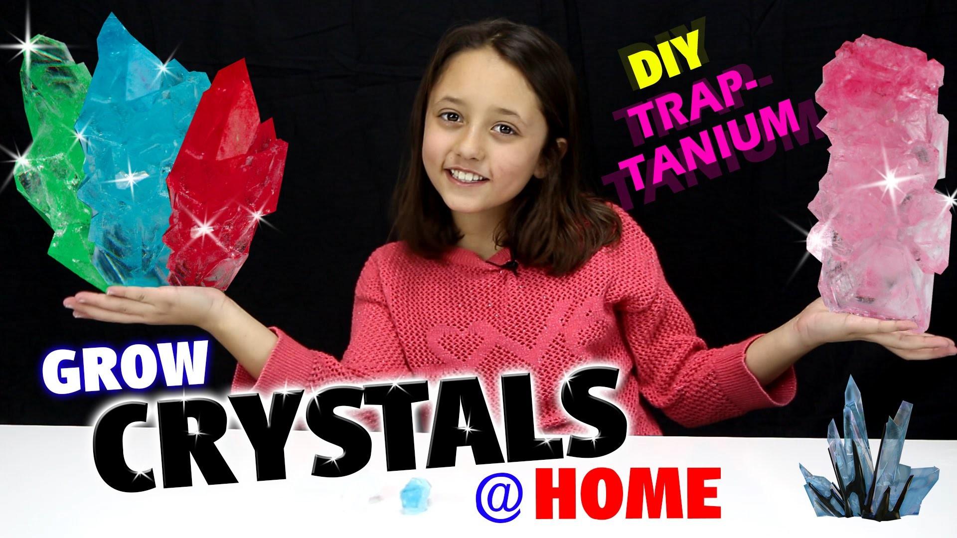 GROW CRYSTALS AT HOME!  DIY Traptanium. Skylanders Fun w. Sky Girl Lexi  (TRAP TEAM)