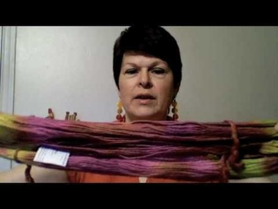 Hand Painted Yarns - how to match skeins for a project