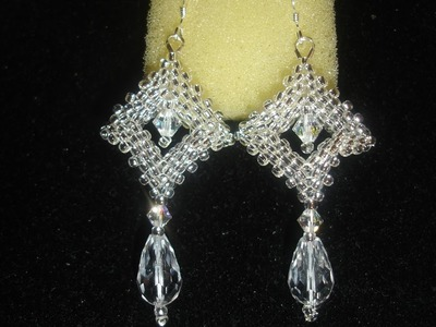 Handmade Jewelry: Crystal Window Earrings