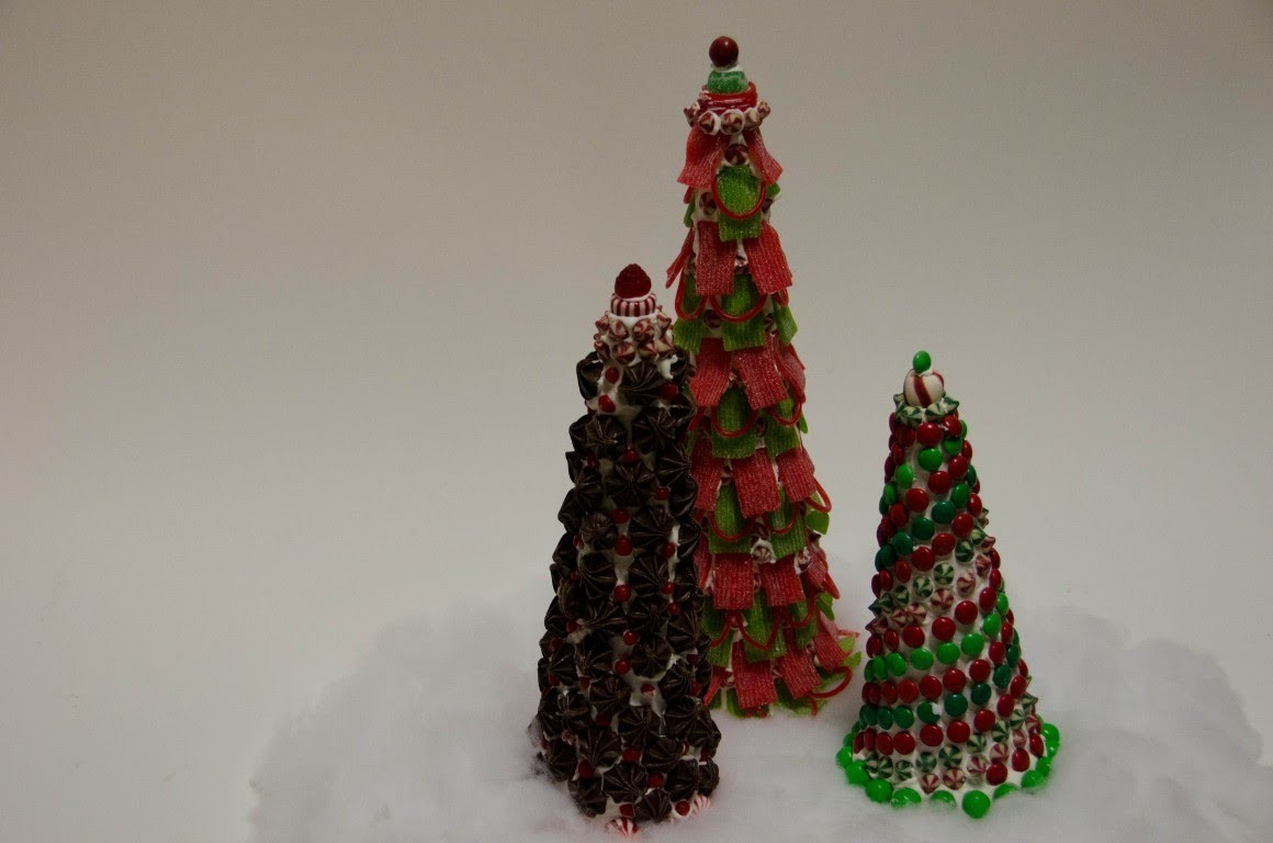Holiday DIY: How to make holiday themed candy trees