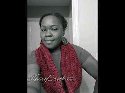 How To: Chunky Crochet Infinity Scarf