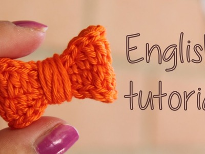 How to crochet a super cute bow