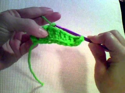 How to Crochet - Reverse Single Crochet (a.k.a Crab Stitch)