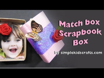 How to decorate a matchbox roses and butterflies - EP