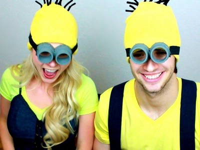 How To: DIY Despicable Me Minion Halloween Costume! (Easy, Cheap DIY) Male & Female!