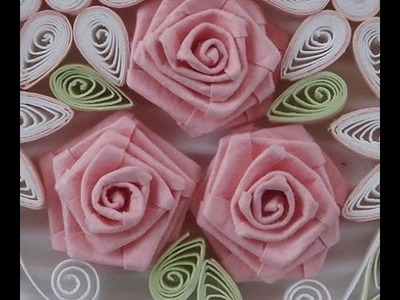 How to Fold Rose- Paper Quilling