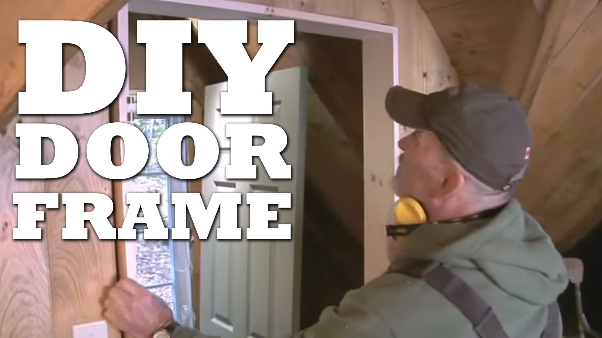 How To Make a Door Frame