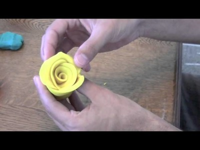 How to make a Rose with clay