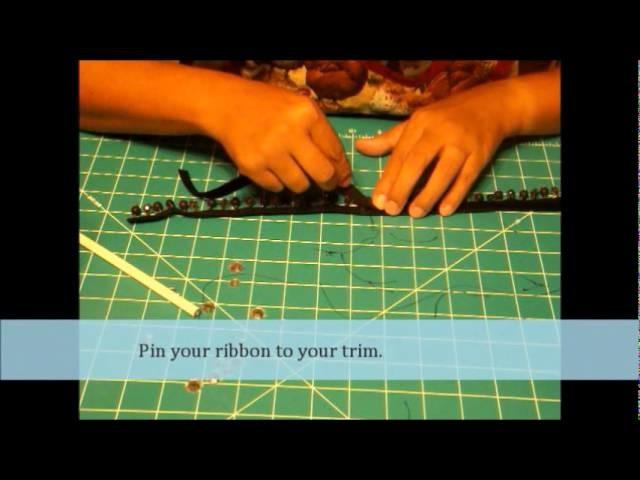 How to make a Velvet Choker Necklace