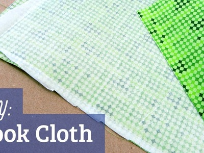 How to Make Book Cloth
