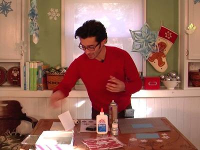 How to Make DIY Christmas Cards Using a Cricut Mini
