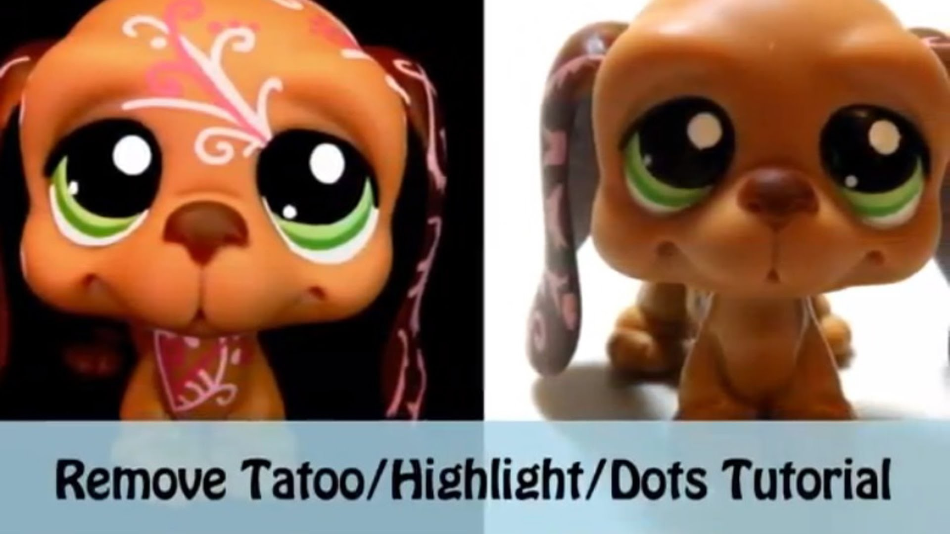 How To: Make-up 101 #1 Remove the Tatoo.Highlight.Dots (LPS)